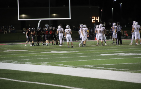 North Polk faces off against Nevada on the Comet homecoming night, Sept. 25.
